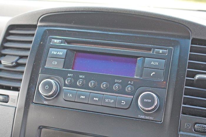 2012 Nissan Navara ST D40 Series 6 4X4 Blue