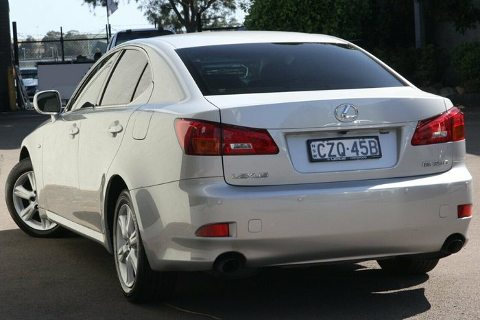 2008 Lexus IS IS250 Prestige GSE20R SILVER