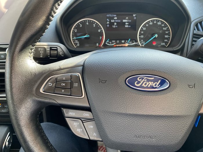 2018 Ford EcoSport Trend BL MY18 Black