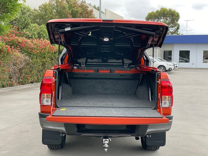 2019 Toyota Hilux Rogue GUN126R 4X4 Dual Range Orange