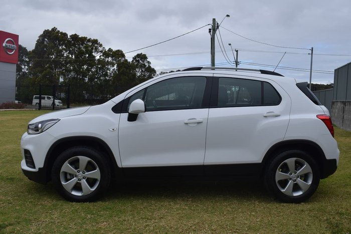 2019 Holden Trax LS TJ MY19 White