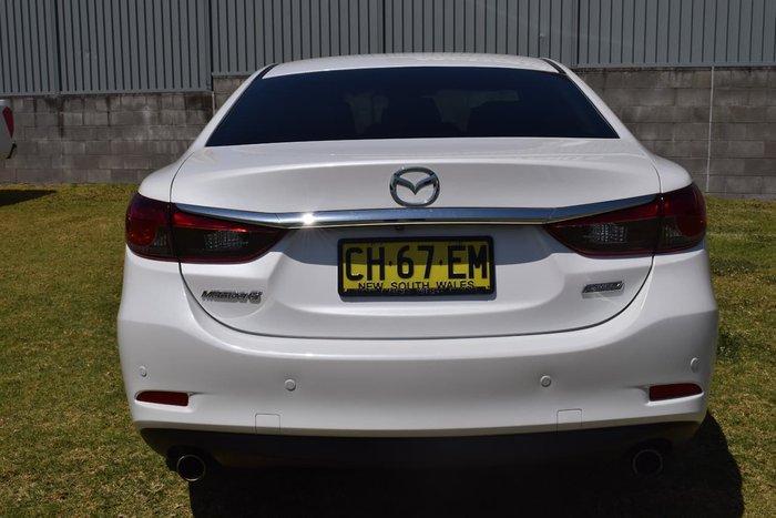 2016 Mazda 6 Sport GJ Series 2 White