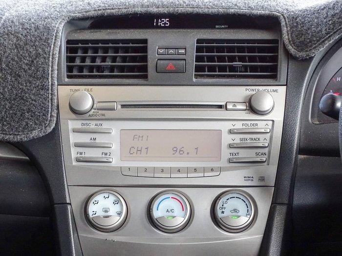 2009 Toyota Aurion AT-X GSV40R Silver