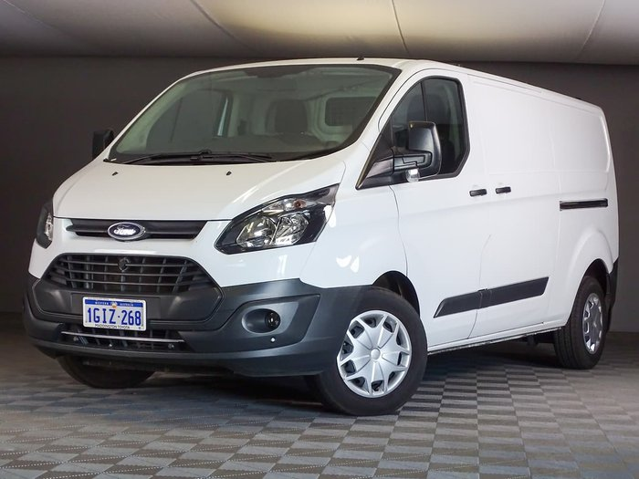 2017 Ford Transit Custom 340L VN White