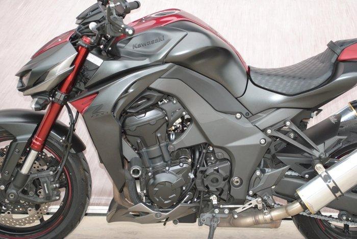 2016 Kawasaki Z1000 Grey
