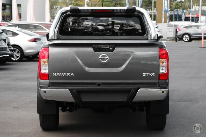2020 Nissan Navara ST-X D23 Series 4 4X4 Dual Range Grey