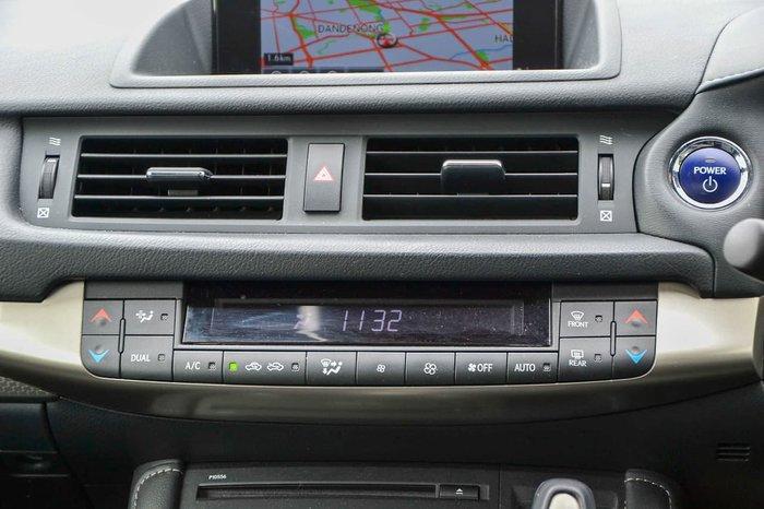 2015 Lexus CT CT200h F Sport ZWA10R Silver