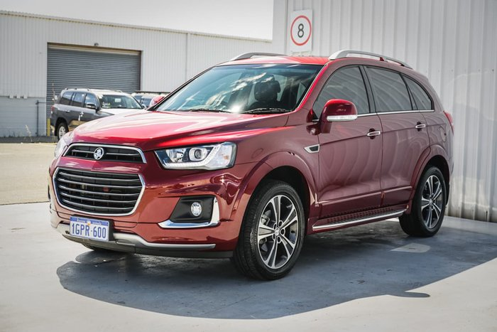 2018 Holden Captiva LTZ CG MY18 4X4 On Demand Red