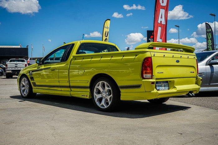 2003 Ford Falcon XR8 BA Yellow