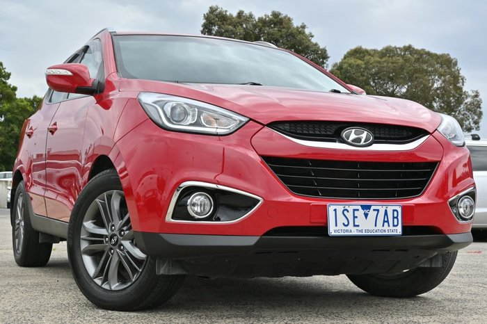 2014 Hyundai ix35 SE Series II Red