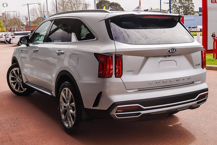 2020 Kia Sorento GT-Line MQ4 MY21 4X4 On Demand Silver