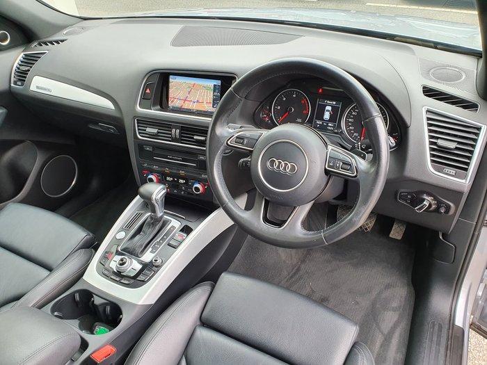 2016 Audi Q5 TDI Sport Edition 8R MY17 Four Wheel Drive Silver