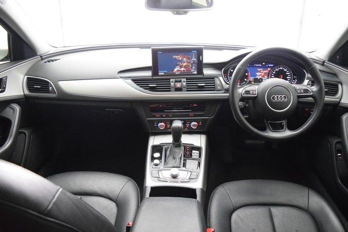 2015 Audi A6 S Line C7 MY16 Glacier White