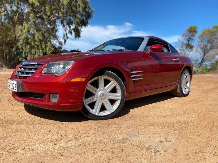 2004 Chrysler Crossfire ZH MY04 RED