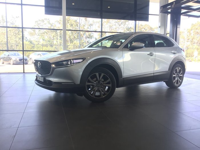 2020 Mazda CX-30 X20 Astina DM Series 4X4 On Demand Silver