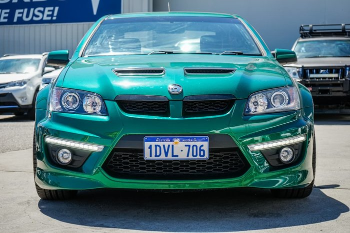 2011 Holden Special Vehicles Clubsport R8 E Series 3 Green