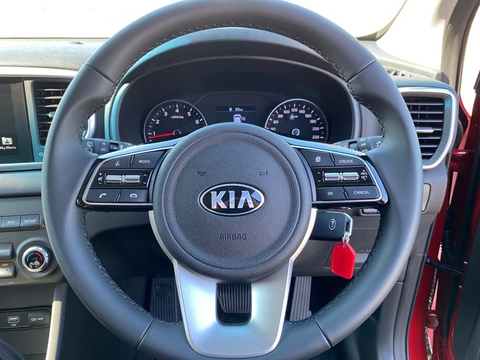 2020 Kia Sportage SX QL MY21 Red
