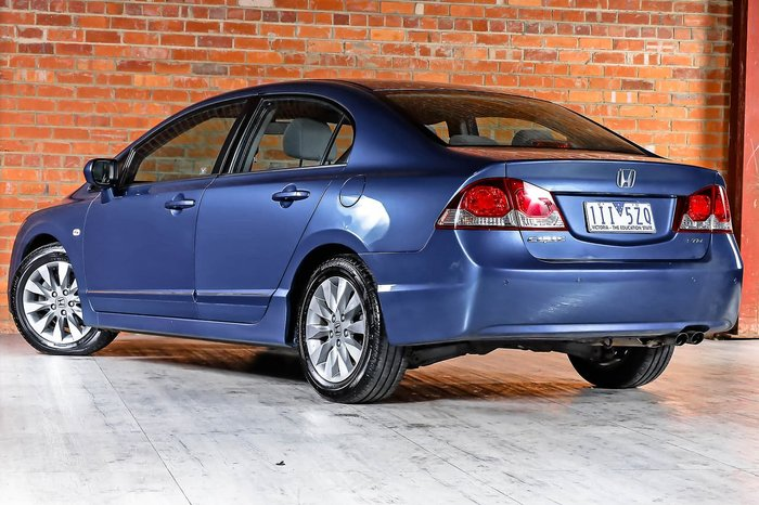 2011 Honda Civic VTi-L 8th Gen MY11 Blue