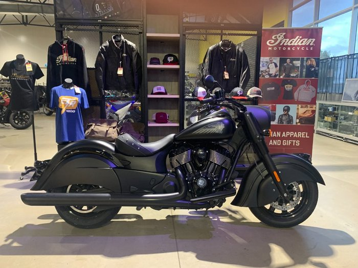2020 Indian CHIEF DARK HORSE Black