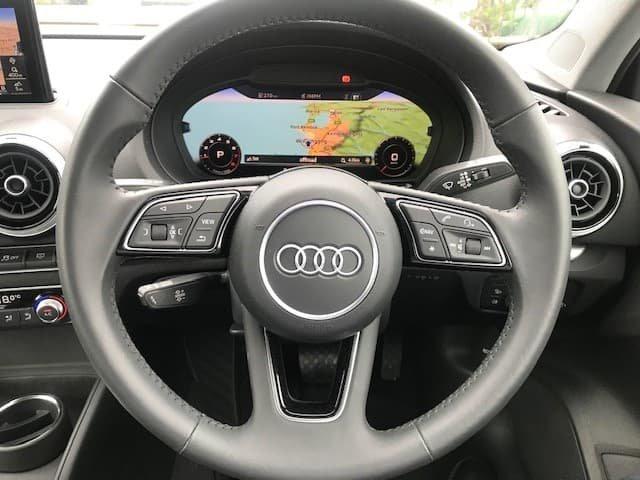 2019 Audi A3 35 TFSI S line plus 8V MY19 White