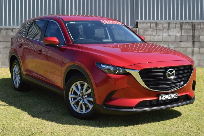 2017 Mazda CX-9 Sport TC Red