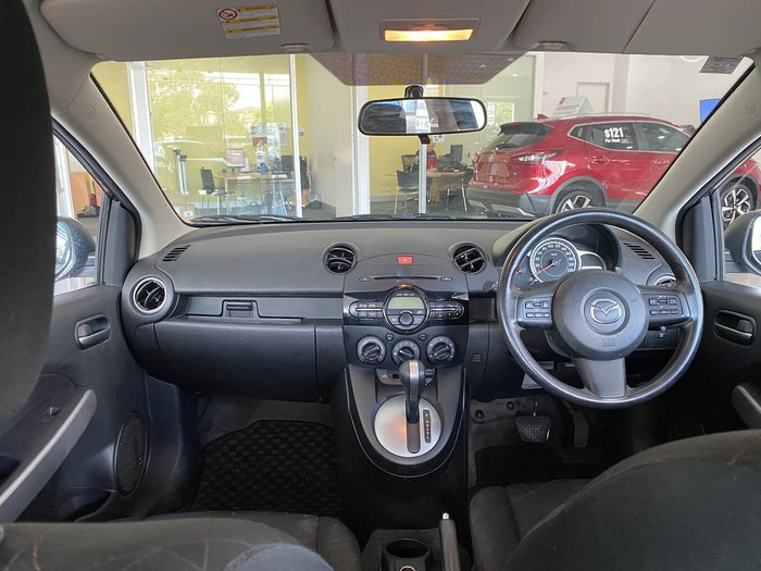 2012 Mazda 2 Neo DE Series 2 MY12 Blue
