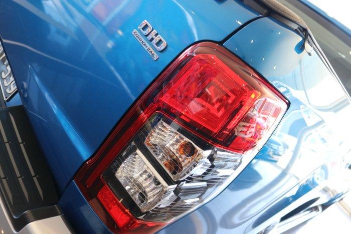 2019 Mitsubishi Triton GLX+ MR MY19 4X4 Dual Range Impulse Blue