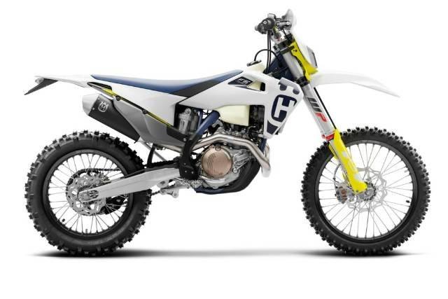 2020 HUSQVARNA FE450 WHITE