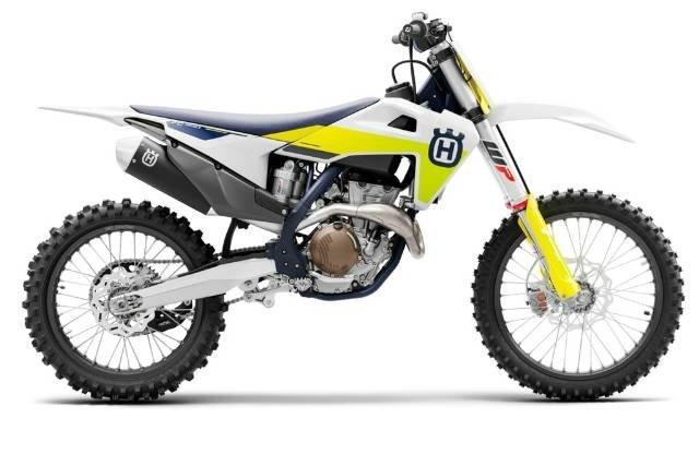 2021 HUSQVARNA FC350 WHITE