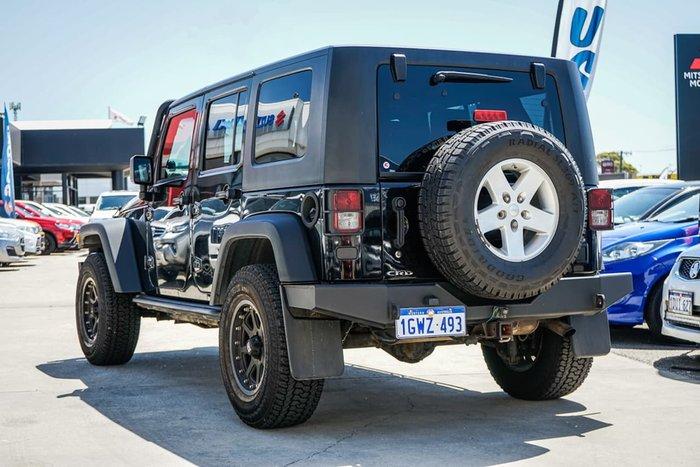 2009 Jeep Wrangler Unlimited Sport JK MY09 4X4 Black