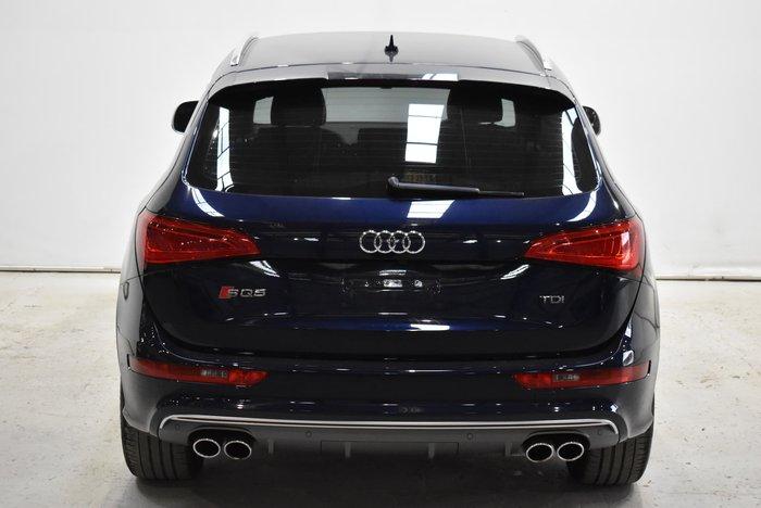 2013 Audi SQ5 TDI 8R MY13 Four Wheel Drive Blue