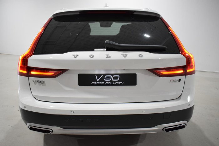 2019 Volvo V90 Cross Country D5 MY20 4X4 On Demand White