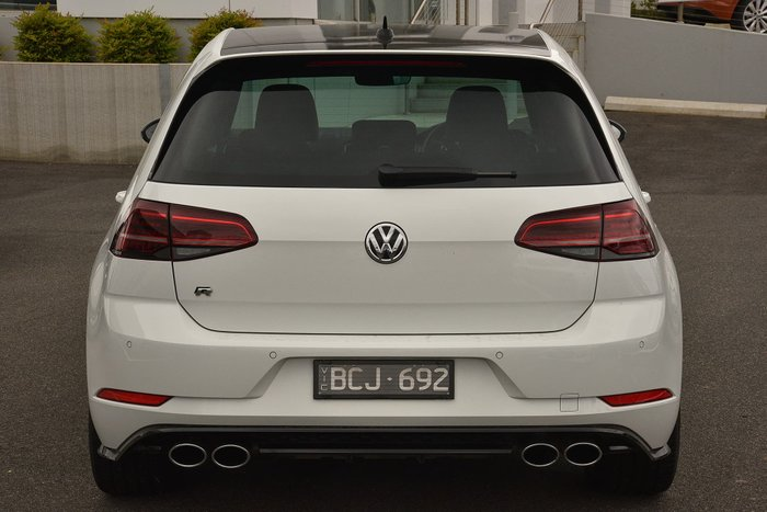 2019 Volkswagen Golf R 7.5 MY19.5 Four Wheel Drive White