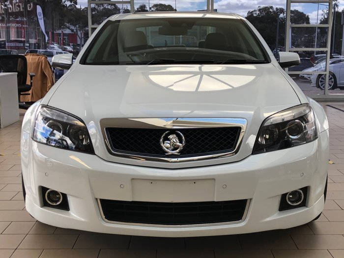 2017 Holden Caprice V WN Series II MY17 White