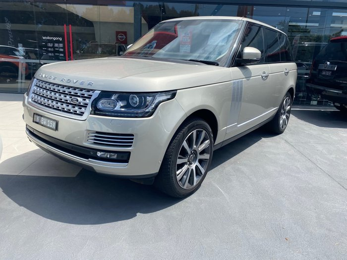 2013 Land Rover Range Rover SDV8 Vogue SE L405 MY14 4X4 Constant Silver