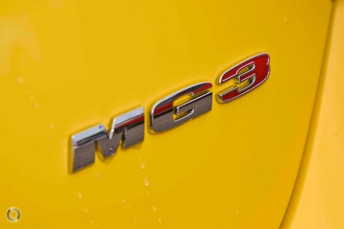 2020 MG MG3 Excite MY20 Yellow