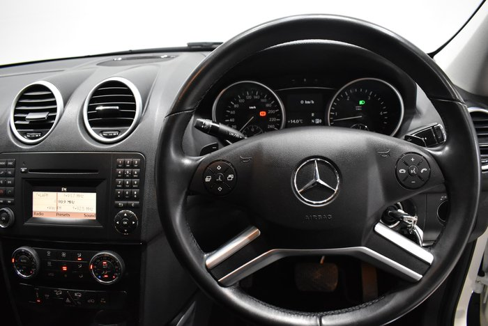 2010 Mercedes-Benz M-Class ML300 CDI BlueEFFICIENCY AMG Sports W164 MY10 4X4 Constant White