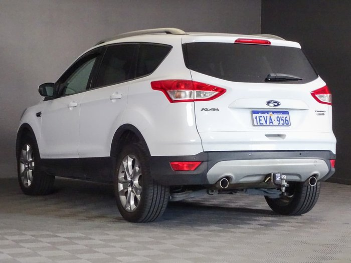 2015 Ford Kuga Trend TF MkII MY15 4X4 On Demand White