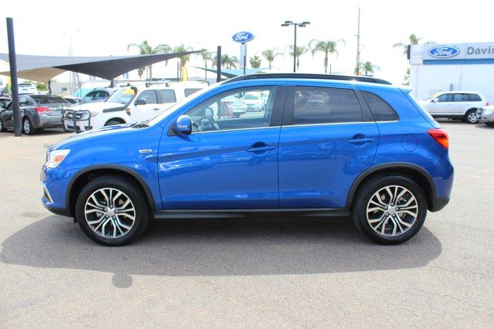 2017 Mitsubishi ASX LS XC MY17 Blue