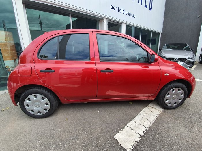 2009 Nissan Micra K12 Red