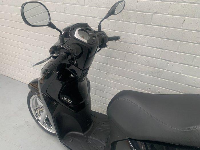 2020 Peugeot BELVILLE 200 RS Black