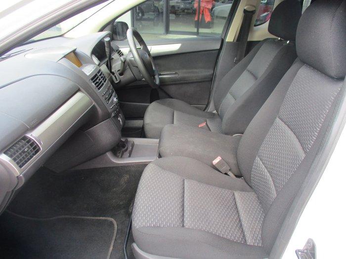 2010 Ford Falcon Ute FG White