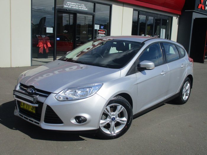 2013 Ford Focus Trend LW MKII Silver