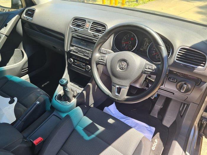 2012 Volkswagen Golf 118TSI Comfortline VI MY12.5 Grey