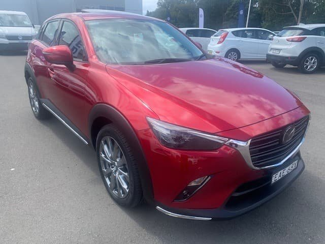 2018 Mazda CX-3 Akari LE DK Red
