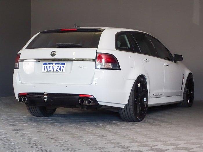 2013 Holden Special Vehicles Clubsport R8 Tourer GEN-F MY14 White