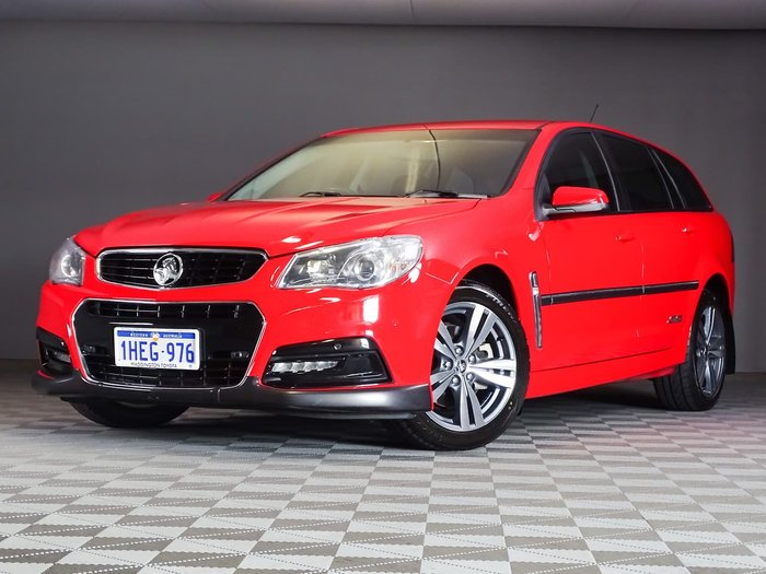 2013 Holden Commodore SS VF MY14 Red