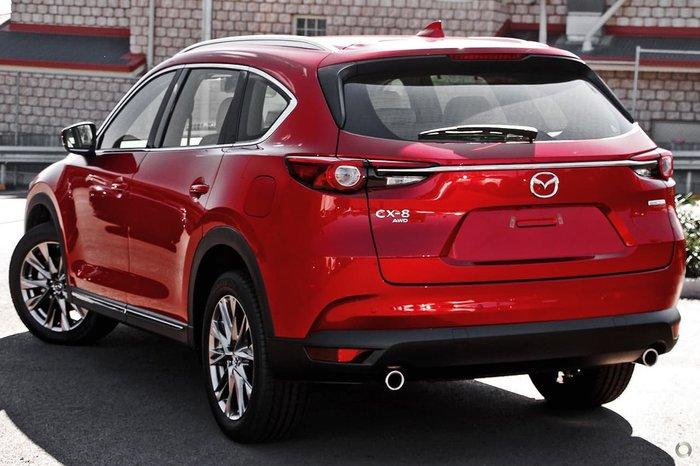 2020 Mazda CX-8 Asaki KG Series 4X4 On Demand Soul Red Crystal