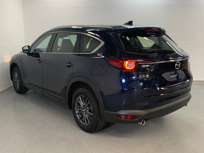 2020 Mazda CX-8 Touring KG Series Deep Crystal Blue