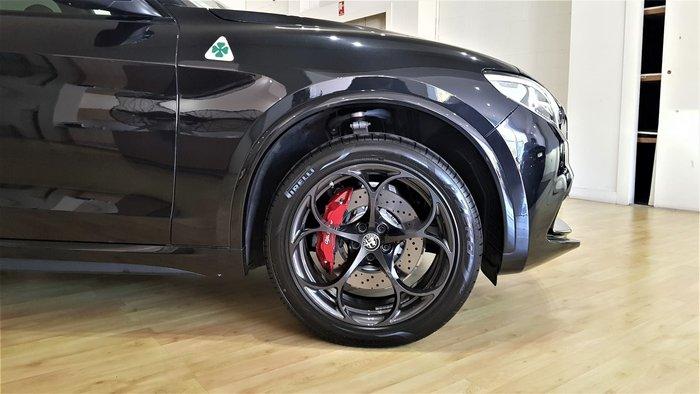 2019 Alfa Romeo Stelvio Quadrifoglio 4X4 On Demand Black